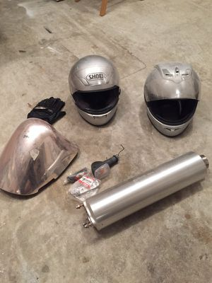 Motorcycle Helmets and Suzuki Hababusa Parts for Sale in Alpharetta, GA