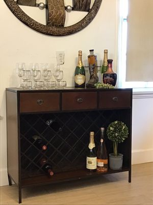 Wine Rack Entry Table Sofa Table Console for Sale in Norwalk, CA