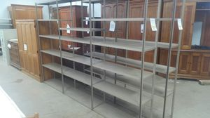 9 x 6 Metal Storage Shelving for Sale in Dallas, TX