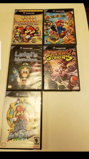 Mario Gamecube Bundle for Sale in Orange, CA