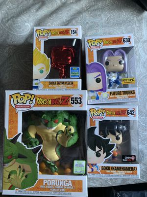 Dragon ball z Funko pop lot exclusives for Sale in Chicago, IL