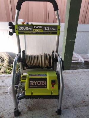 Pressure washer ryobi electric for Sale in Downey, CA