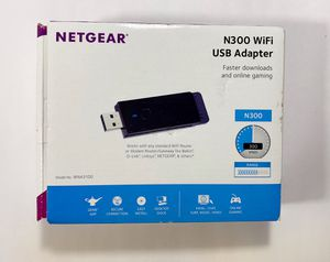 Netgear N300 WiFi USB Adapter for Sale in McAllen, TX