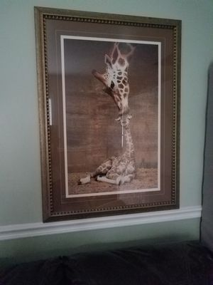 Giraffe Mother & Calf Picture for Sale in Irmo, SC