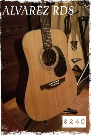Alvarez Acoustic w matching hardcase for Sale in Sharon, MA