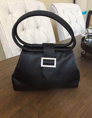 Excellent condition XOXO black satin evening handbag for Sale in Tampa, FL