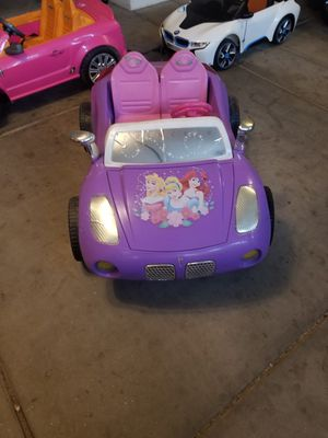 Motortrendz Disney Princess Solstice Ride On for Sale in Phoenix, AZ