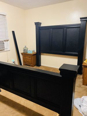 Bed frame from Ashley's furniture- queen for Sale in La Puente, CA
