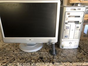 HP Computer, Monitor, and WiFi. Moving April 8 so pick up by then! for Sale in Nolensville, TN