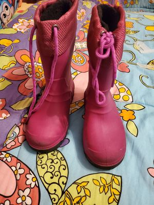 Size 12 girls rain boots for Sale in Hope Mills, NC
