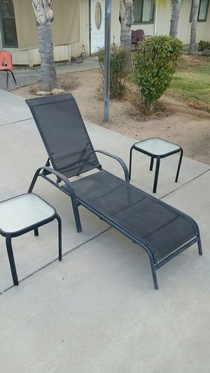 Patio furniture lawn chair for Sale in Madera, CA