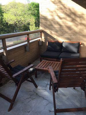 Practically new outdoor deck furniture. for Sale in Larchmont, NY