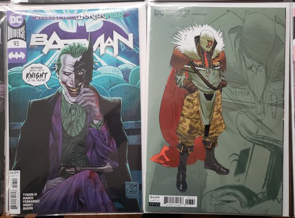 Batman Designer Arc - #86-94 includes key variant covers! Punchline, Designer, Joker oh my!