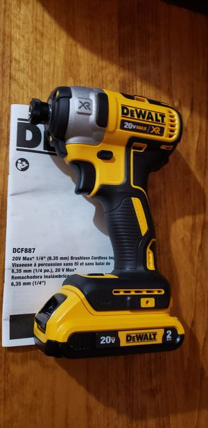 DEWALT 20V IMPACT DRILL 3SPEED XR AND BATTERY. for Sale in Kansas City, MO