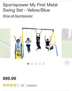 My First Metal Swing Set for Sale in Montclair, CA