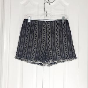 Very J fringe hem printed shorts for Sale in Cape Coral, FL