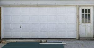 """16x7 garage door plus opener and 36"""" entry door for Sale in Pevely, MO"""