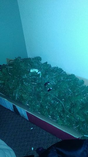 Prelit artificial Christmas tree from j c penny. Used this year...1 time...still new for Sale in Chesapeake, VA