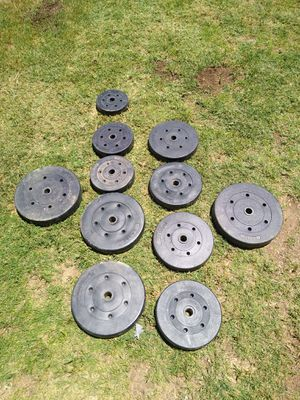 """175 lb of weights 1""""hole for Sale in Phoenix, AZ"""