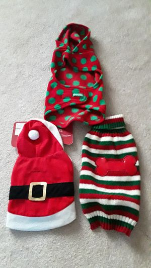 Small dog holiday sweaters for Sale in Woodburn, OR