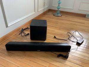 Polk Audio SDA Soundbar and wireless sub for Sale in Houston, TX
