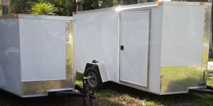 5x8 trailer enclosed. New 2020 modle for Sale in Fort Myers, FL