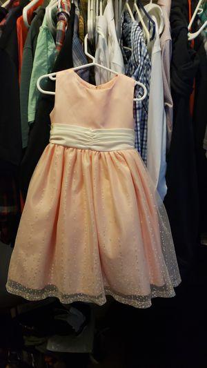 Pink flower girl dress size 2 for Sale in Littleton, CO