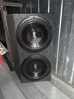 Jvc subwoofer for Sale in Lake Forest, CA