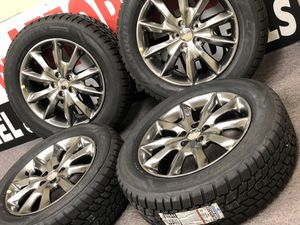 "18"" oem Jeep Compass cherokee wheels and tires new for Sale in Warren, MI"
