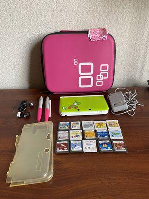 Nintendo 3DS XL Yoshi Edition bundle for Sale in Phoenix, AZ