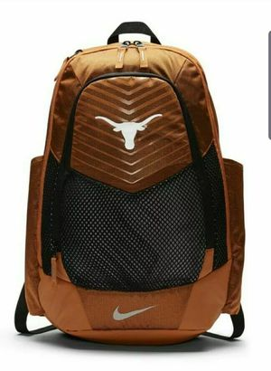 New Nike Texas Longhorns Vapor Power Max Air Backpack Style BA5285-802 for Sale in Dallas, TX