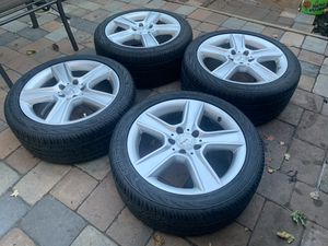 Mercedes Benz wheels rims oem Staggered size 17 for Sale in Manassas, VA
