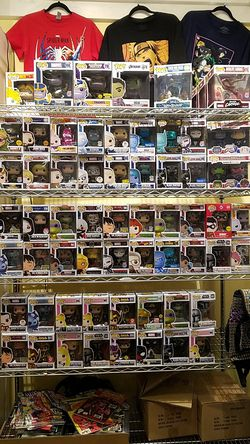 Big sales on funko pop exclusive naruto sailor moon dragon ball star wars mandalorian marvel disney dc for Sale in Temecula,  CA