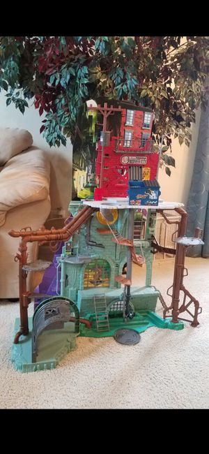 TMNT Sewer Lair for Sale in Plainfield, IL