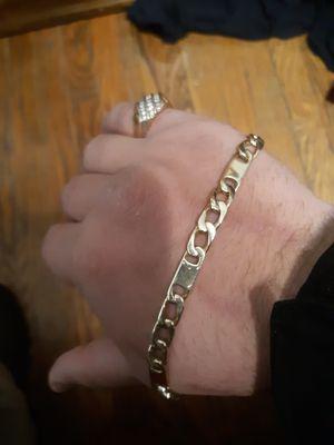 25.4 gram 14k Solid Gold Mens Bracelet for Sale in New Haven, CT