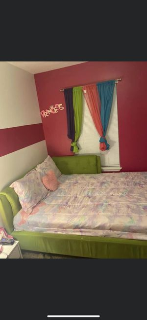 Kids Full-size Bed Frame & Mattress for Sale in Indianapolis, IN