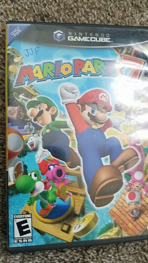 Mario party 7 for game cube comes with manual in good condition for Sale in Fresno, CA