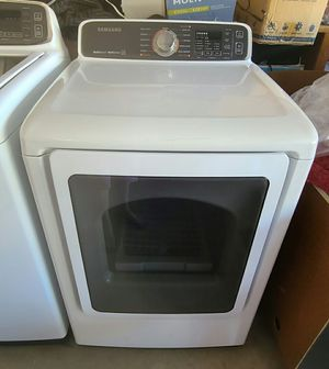 Samsung Dryer Gas Ultra Large Capacity, Steam Sensor, Excellent Working Condition Like New for Sale in West Covina, CA