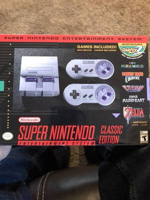 Super nintendo classic edition for Sale in Wheat Ridge, CO