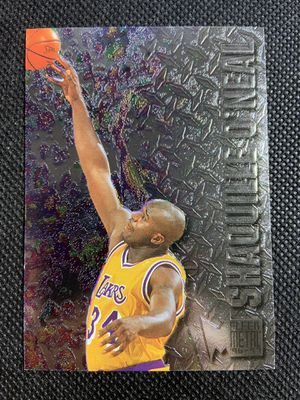 1996-97 fleer metal Shaquille O'Neal HOF Los Angeles lakers🔥🔥🔥🔥 for Sale in La Mesa, CA