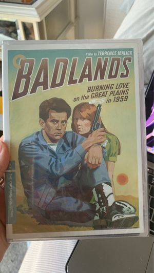 Badlands DVD Criterion collection for Sale in Los Angeles, CA