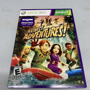 Kinect Adventures For Xbox 360 Complete CIB Video Game for Sale in Camp Hill, PA