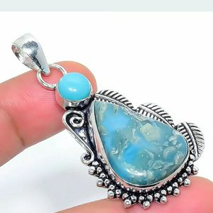 Turquoise Sterling Silver Pendant for Sale in Sioux Falls, SD