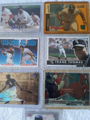 Baseball Chicago White Sox Hall of Fame Frank Thomas 7 Cards Lot for Sale in Kissimmee, FL