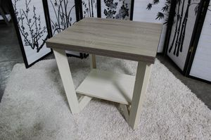 End Table, Ivory & Dark Taupe , SKU # 161602ET for Sale in Downey, CA