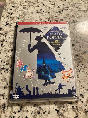Walt Disney's Mary Poppins 40th Anniversary Edition for Sale in Wahneta, FL