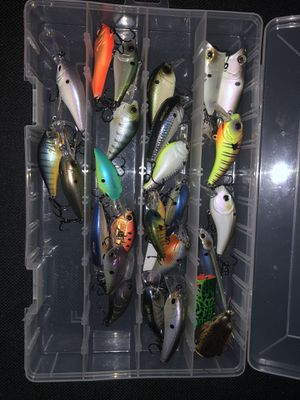 Bass fishing lures for Sale in Chesapeake, VA