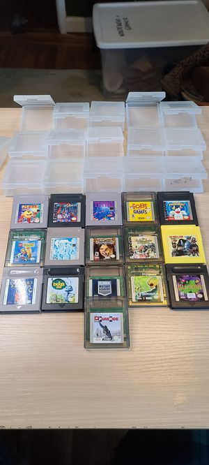 16 Gameboy and Gameboy Color games for trade. for Sale in San Lorenzo, CA