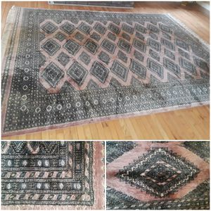 Large Hand Knotted Vintage Area Rug for Sale in Decatur, GA