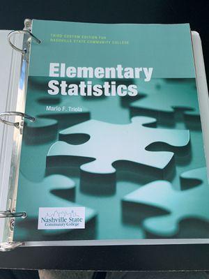 Statistics Textbook for Sale in Nashville, TN